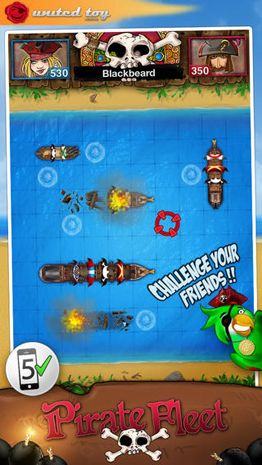 Скачать игру Battle by Ships - Pirate Fleet для iPad.