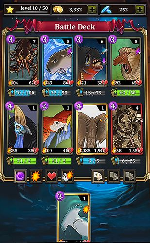 Игра Battle cards savage heroes TCG для iPhone