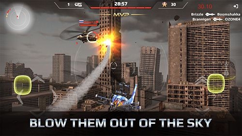 Download Battle copters iPhone free game.