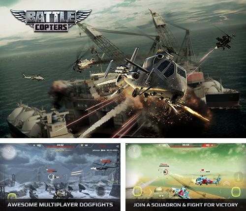 In addition to the game Sea adventure: Kingdom of glory for iPhone, iPad or iPod, you can also download Battle copters for free.