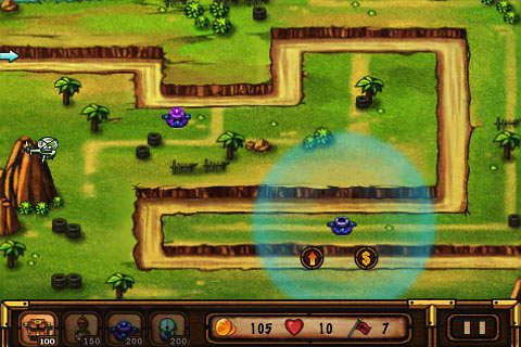 Capturas de pantalla del juego Battle: Defender para iPhone, iPad o iPod.