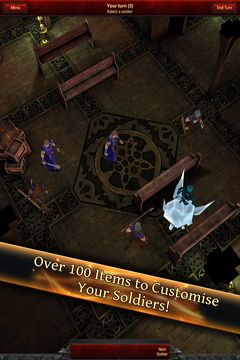 Descarga gratuita de Battle Dungeon: Risen para iPhone, iPad y iPod.