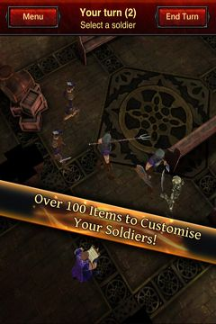 Screenshots vom Spiel Battle Dungeon: Risen für iPhone, iPad oder iPod.