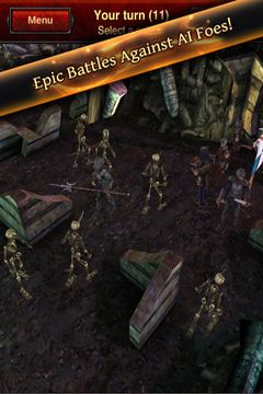 Capturas de pantalla del juego Battle Dungeon: Risen para iPhone, iPad o iPod.