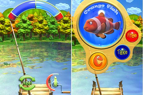 Игра Battle fish для iPhone