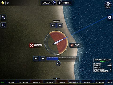 Download Battle fleet 2: World war 2 in the Pacific iPhone free game.