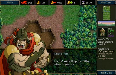 Descarga gratuita de Battle for Wesnoth: The Dark Hordes para iPhone, iPad y iPod.