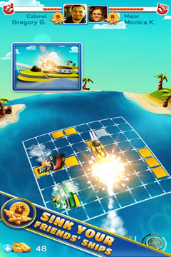Kostenloser Download von Battle Friends at Sea PREMIUM für iPhone, iPad und iPod.