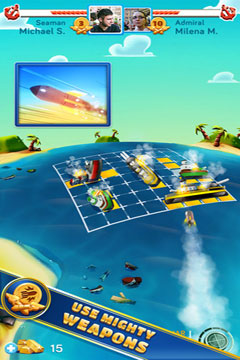 Screenshots vom Spiel Battle Friends at Sea PREMIUM für iPhone, iPad oder iPod.