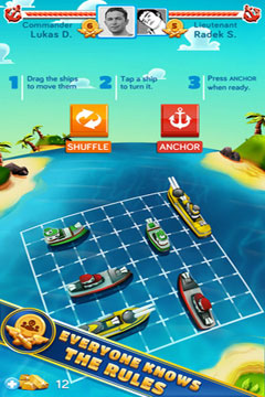 Screenshots vom Spiel Iron Force für iPhone, iPad oder iPod.