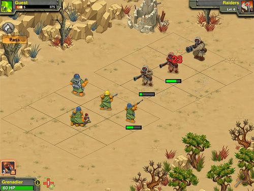 Screenshots of the Battle nations game for iPhone, iPad or iPod.