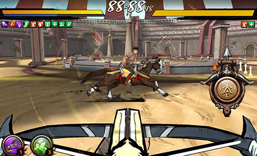 Écrans du jeu Battle of arrow pour iPhone, iPad ou iPod.