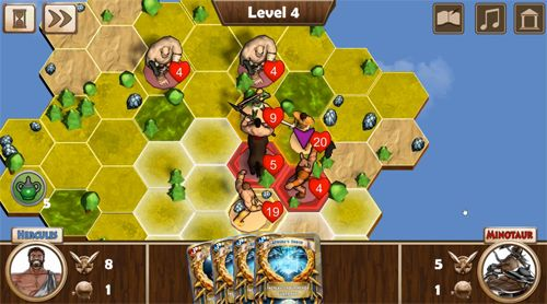 Screenshots of the Battle of gods: Ascension game for iPhone, iPad or iPod.