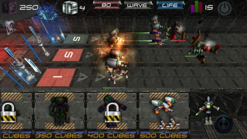 Capturas de pantalla del juego Battle Of The Machines Pro para iPhone, iPad o iPod.