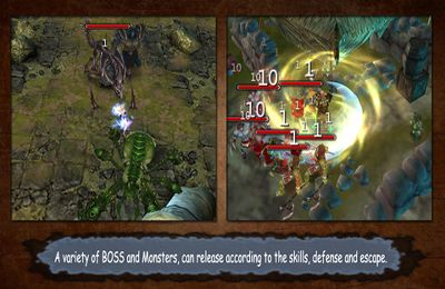 Screenshots vom Spiel Demonrock: War of ages für iPhone, iPad oder iPod.