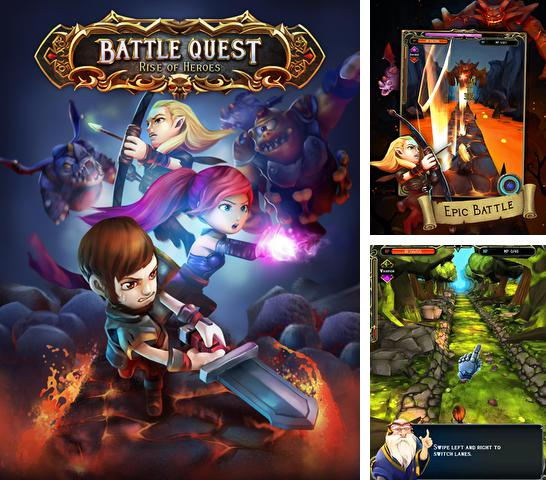 In addition to the game Cogs for iPhone, iPad or iPod, you can also download Battle quest: Rise of heroes for free.