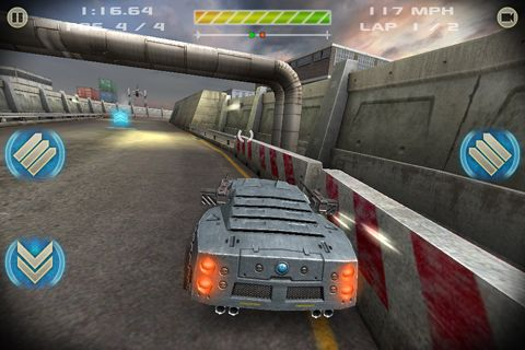Screenshots vom Spiel Battle riders für iPhone, iPad oder iPod.