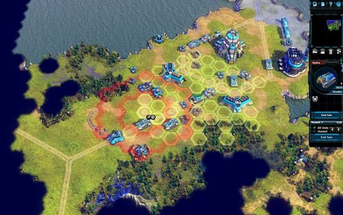 Screenshots of the Battle worlds: Kronos game for iPhone, iPad or iPod.
