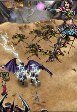 Kostenloser Download von Battlebow: Shoot the Demons für iPhone, iPad und iPod.