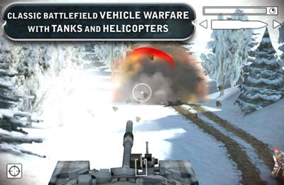 Capturas de pantalla del juego Battlefield 2 para iPhone, iPad o iPod.