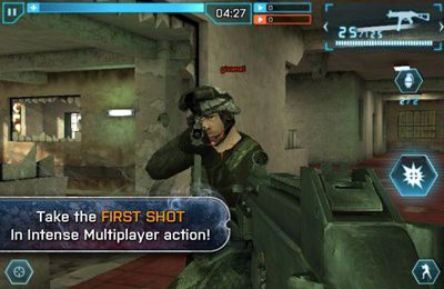 iPhone、iPad 或 iPod 版Battlefield 3: Aftershock游戏截图。