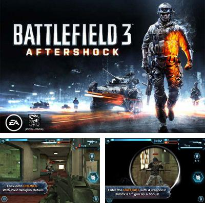 In addition to the game Cowboys & aliens for iPhone, iPad or iPod, you can also download Battlefield 3: Aftershock for free.