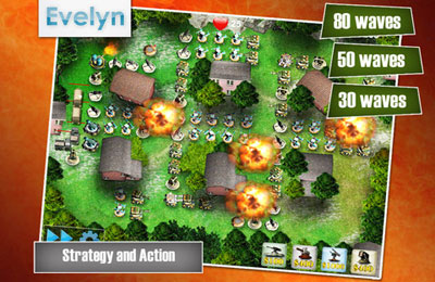 Kostenloser Download von Battleground Defense für iPhone, iPad und iPod.