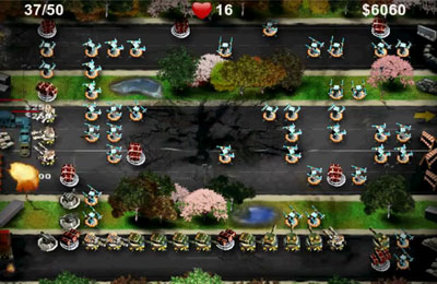 Screenshots vom Spiel Battleground Defense für iPhone, iPad oder iPod.