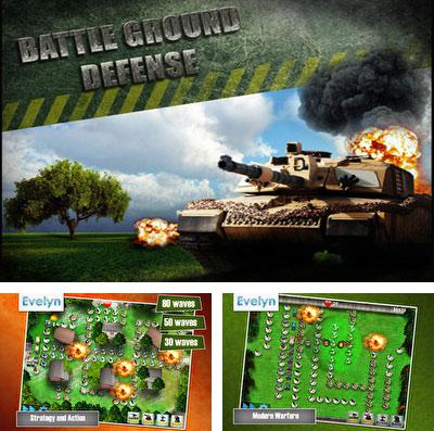 In addition to the game Clash of lords 2 for iPhone, iPad or iPod, you can also download Battleground Defense for free.