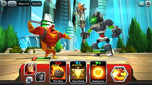 Screenshots of the Battlehand heroes game for iPhone, iPad or iPod.