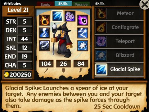 Download Battleheart: Legacy iPhone free game.