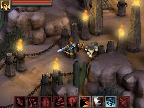 Descarga gratuita de Battleheart: Legacy para iPhone, iPad y iPod.