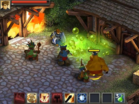 Screenshots do jogo Battleheart: Legacy para iPhone, iPad ou iPod.