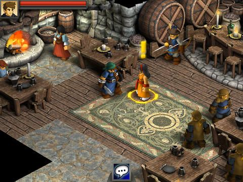 Capturas de pantalla del juego Battleheart: Legacy para iPhone, iPad o iPod.