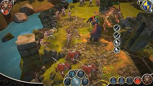 Screenshots vom Spiel Battlelore: Command für iPhone, iPad oder iPod.