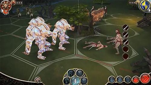 Screenshots of the Battlelore: Command game for iPhone, iPad or iPod.