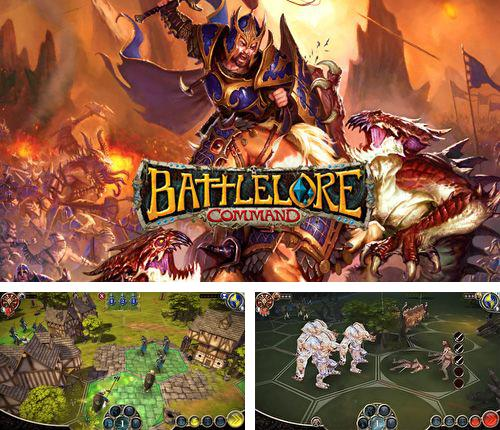 In addition to the game Burger shop for iPhone, iPad or iPod, you can also download Battlelore: Command for free.