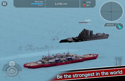 iPhone、iPad 或 iPod 版Battleship Craft游戏截图。