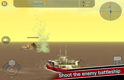 Capturas de pantalla del juego Battleship Craft para iPhone, iPad o iPod.