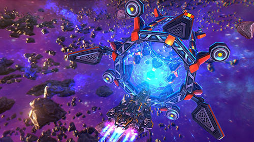 Écrans du jeu Battleship lonewolf: TD space pour iPhone, iPad ou iPod.