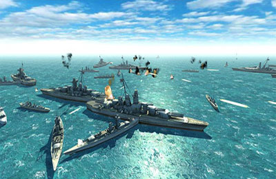 Capturas de pantalla del juego Battleship War para iPhone, iPad o iPod.