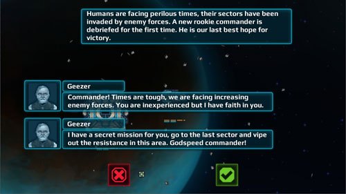Screenshots of the Battlestation: Harbinger game for iPhone, iPad or iPod.