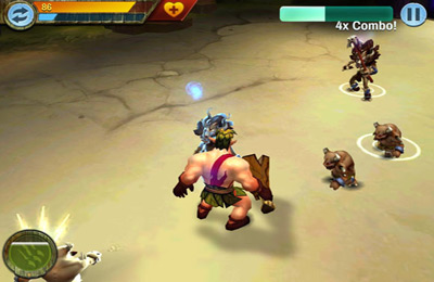 Capturas de pantalla del juego Battlestone para iPhone, iPad o iPod.