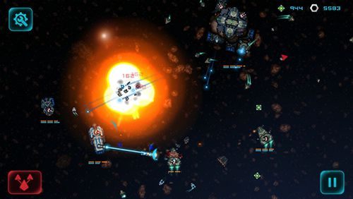 Screenshots of the Battlevoid: Harbinger game for iPhone, iPad or iPod.