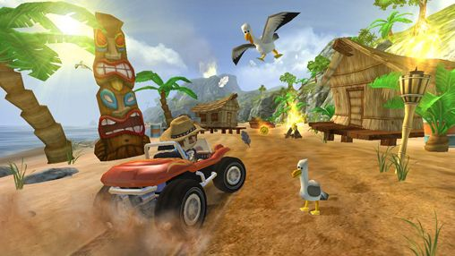 Capturas de pantalla del juego Beach buggy blitz para iPhone, iPad o iPod.