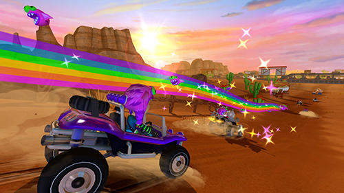Free Beach buggy racing 2 download for iPhone, iPad and iPod.