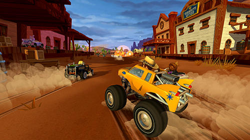 Screenshots of the Beach buggy racing 2 game for iPhone, iPad or iPod.