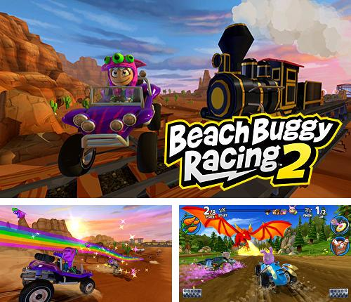 除了 iPhone、iPad 或 iPod 游戏,您还可以免费下载Beach buggy racing 2, 。