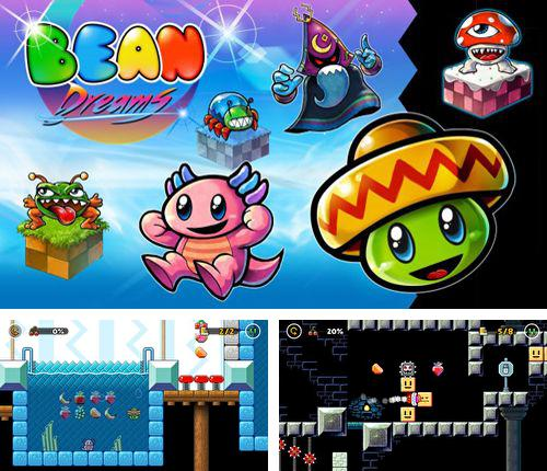 In addition to the game Sliding square for iPhone, iPad or iPod, you can also download Bean dreams for free.