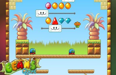 Capturas de pantalla del juego Bean's Quest para iPhone, iPad o iPod.